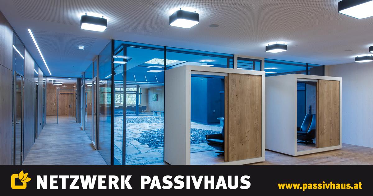 Netzwerk passivhaus bauen wohnen wohlf hlen wie ein for Passivhaus bauen