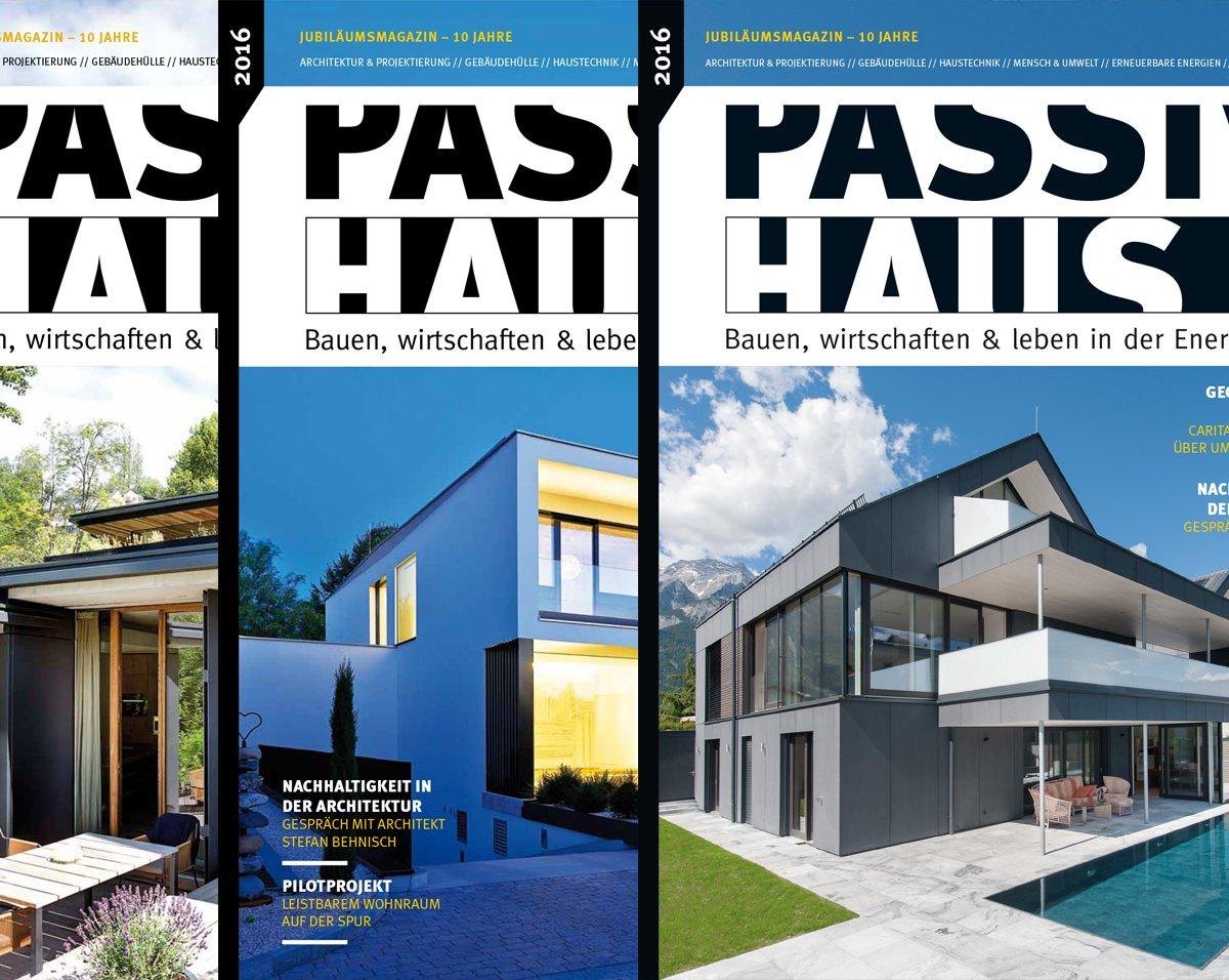 netzwerk passivhaus bauen wohnen wohlf hlen das 10 passivhausmagazin ist erschienen. Black Bedroom Furniture Sets. Home Design Ideas